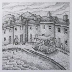 Sunshine Day - Pencil Drawing