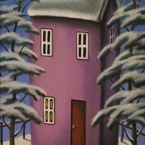 Upon On A Winter's Night 29 x 14cm £1750 (silver)
